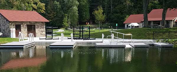 Chenango Valley State Park New York New ADA Dock